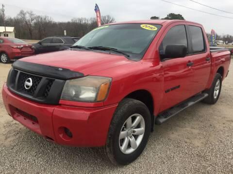 2010 Nissan Titan for sale at McAllister's Auto Sales LLC in Van Buren AR