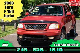 2003 Ford F-150 for sale at Ilan's Auto Sales in Glenside PA