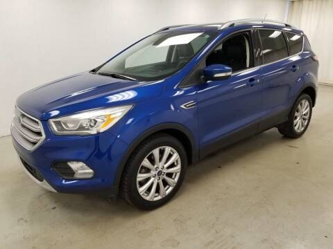 2017 Ford Escape for sale at Kerns Ford Lincoln in Celina OH