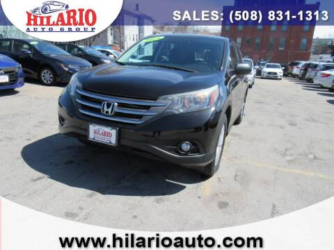 2014 Honda CR-V for sale at Hilario's Auto Sales in Worcester MA