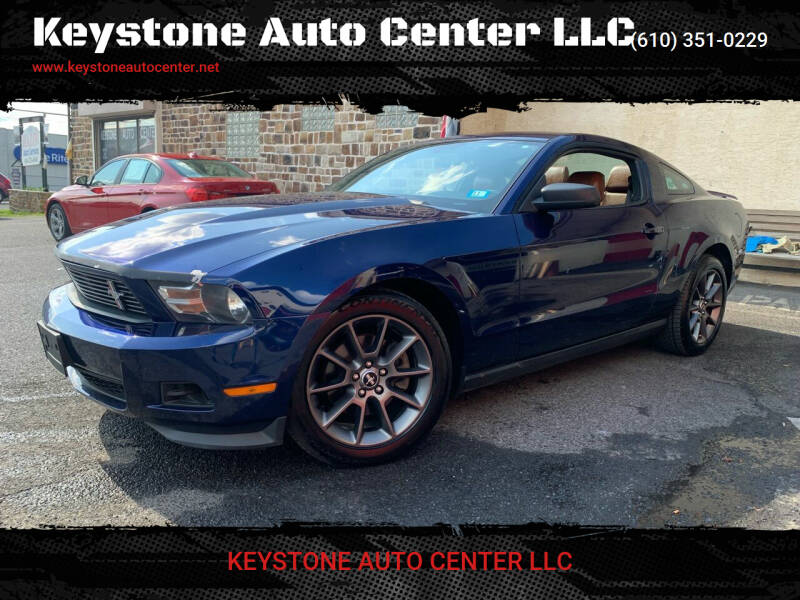 2012 Ford Mustang for sale at Keystone Auto Center LLC in Allentown PA