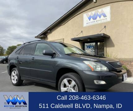 2007 Lexus RX 350 for sale at Western Mountain Bus & Auto Sales in Nampa ID