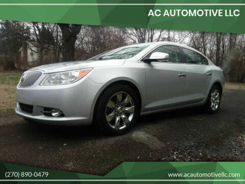 2011 Buick LaCrosse for sale at AC AUTOMOTIVE LLC in Hopkinsville KY