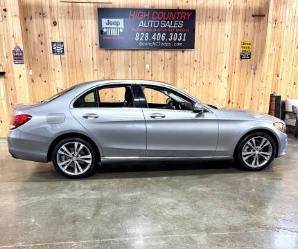 2016 Mercedes-Benz C-Class for sale at Boone NC Jeeps-High Country Auto Sales in Boone NC