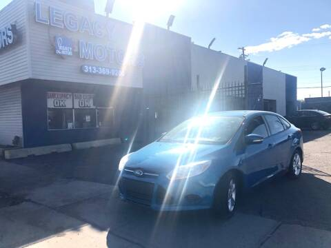 2013 Ford Focus for sale at Legacy Motors in Detroit MI