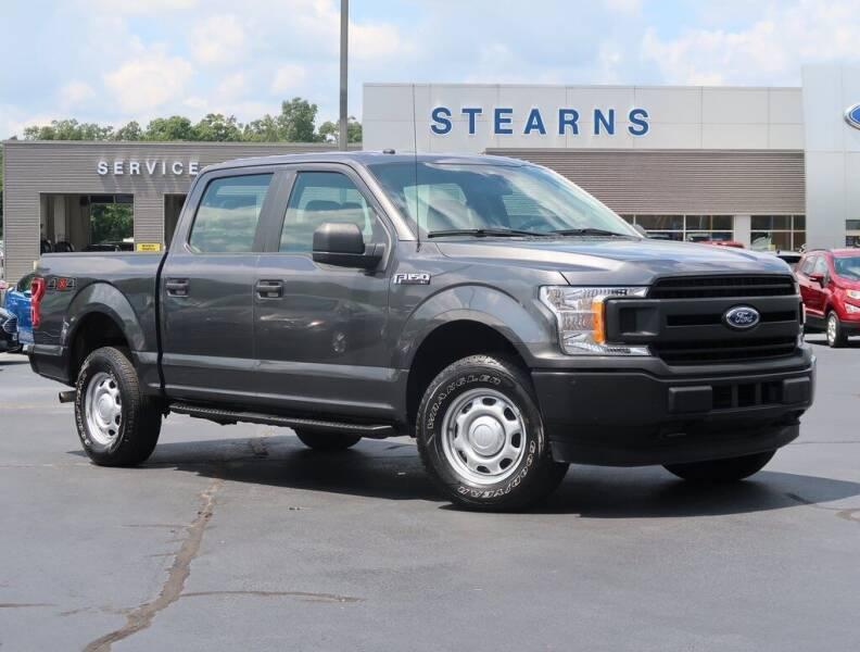 2019 Ford F-150 for sale at Stearns Ford in Burlington NC