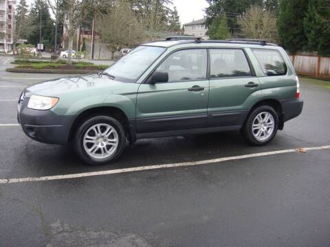 2007 Subaru Forester for sale at Western Auto Brokers in Lynnwood WA