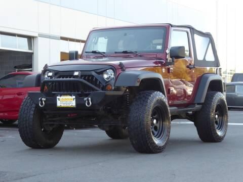 2007 Jeep Wrangler for sale at Loudoun Motor Cars in Chantilly VA