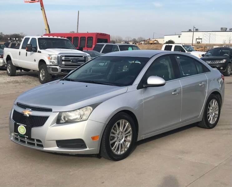 2012 Chevrolet Cruze for sale at Casey's Auto Detailing & Sales in Lincoln NE