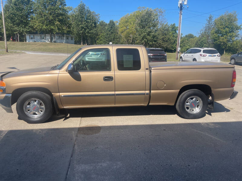 2001 GMC Sierra 1500 for sale at Truck and Auto Outlet in Excelsior Springs MO