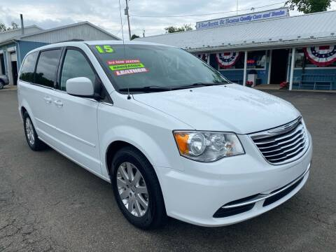2015 Chrysler Town and Country for sale at HACKETT & SONS LLC in Nelson PA