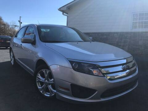 2012 Ford Fusion for sale at No Full Coverage Auto Sales in Austell GA