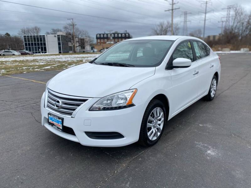 2015 Nissan Sentra for sale at Siglers Auto Center in Skokie IL