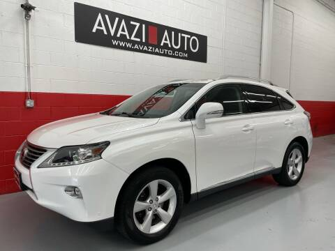 2015 Lexus RX 350 for sale at AVAZI AUTO GROUP LLC in Gaithersburg MD