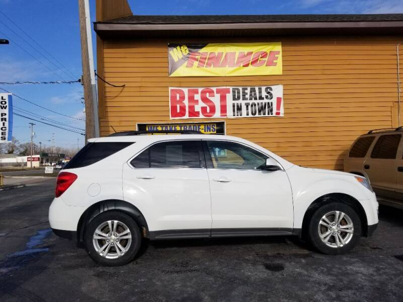 2013 Chevrolet Equinox for sale at American Auto Group LLC in Saginaw MI