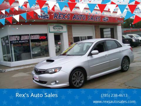 2009 Subaru Impreza for sale at Rex's Auto Sales in Junction City KS