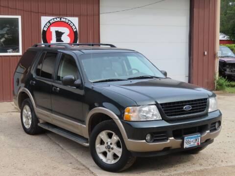 2003 Ford Explorer for sale at Big Man Motors in Farmington MN