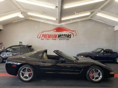 2004 Chevrolet Corvette for sale at Premium Motors in Villa Park IL