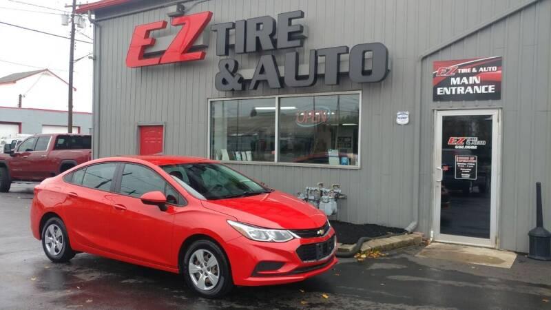 2017 Chevrolet Cruze for sale at EZ Tire & Auto in North Tonawanda NY