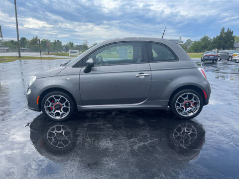 2012 FIAT 500 for sale at ROWE'S QUALITY CARS INC in Bridgeton NC