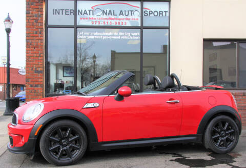 2013 MINI Roadster for sale at INTERNATIONAL AUTOSPORT INC in Pompton Lakes NJ
