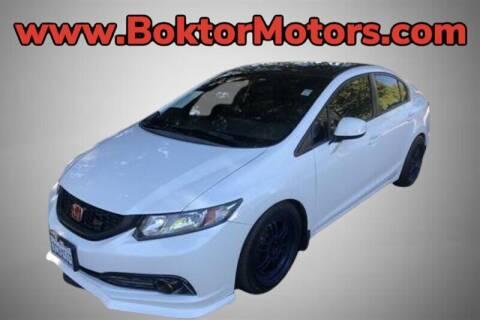 2013 Honda Civic for sale at Boktor Motors in North Hollywood CA