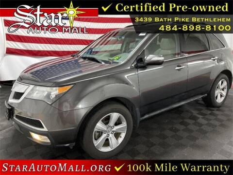 2011 Acura MDX for sale at STAR AUTO MALL 512 in Bethlehem PA