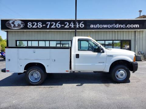 2007 Ford F-350 Super Duty for sale at AutoWorld of Lenoir in Lenoir NC