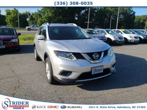2016 Nissan Rogue for sale at STRIDER BUICK GMC SUBARU in Asheboro NC