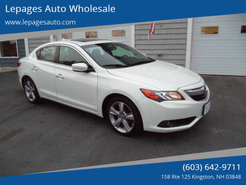 2013 Acura ILX for sale at Lepages Auto Wholesale in Kingston NH