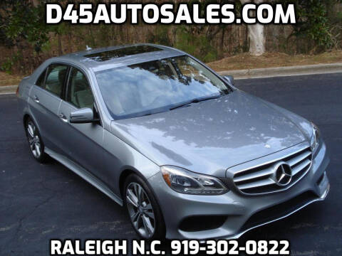 2014 Mercedes-Benz E-Class for sale at D45 Auto Brokers in Raleigh NC
