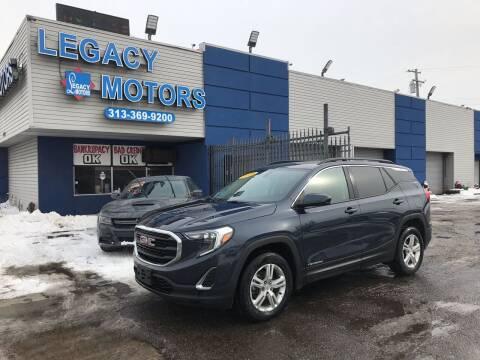 2018 GMC Terrain for sale at Legacy Motors in Detroit MI