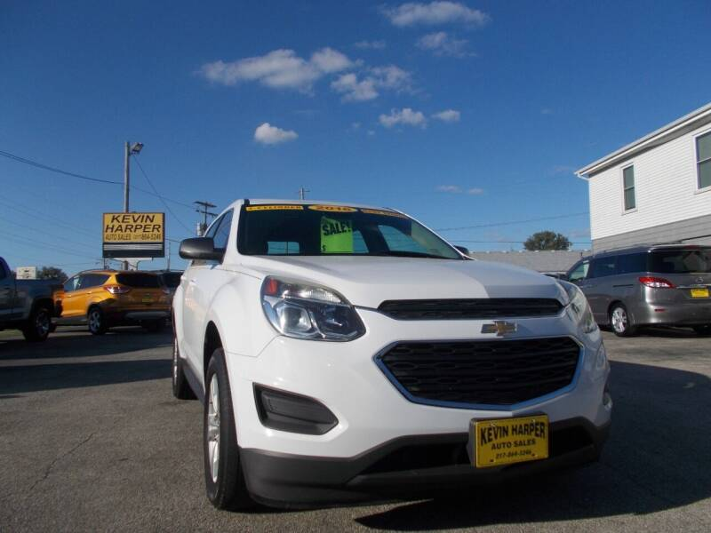 2016 Chevrolet Equinox for sale at Kevin Harper Auto Sales in Mount Zion IL
