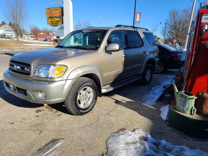 2003 Toyota Sequoia for sale at Nelson's Straightline Auto - 23923 Burrows Rd in Independence WI