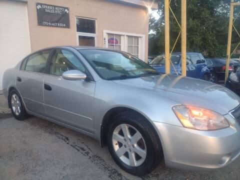 2003 Nissan Altima for sale at Sparks Auto Sales Etc in Alexis NC