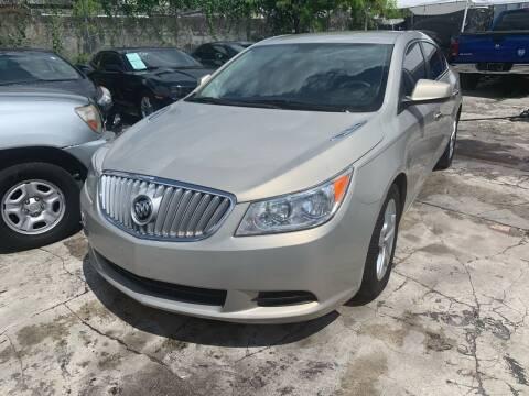 2010 Buick LaCrosse for sale at America Auto Wholesale Inc in Miami FL