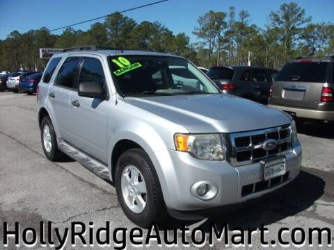 2010 Ford Escape for sale at Holly Ridge Auto Mart in Holly Ridge NC
