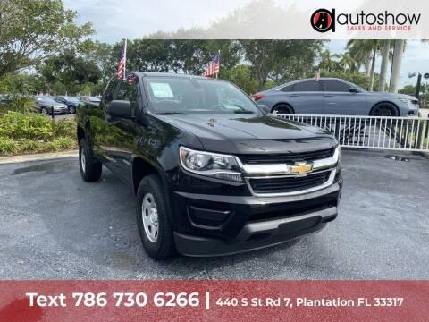 2018 Chevrolet Colorado for sale at AUTOSHOW SALES & SERVICE in Plantation FL