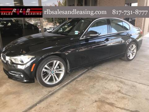 2018 BMW 3 Series for sale at RLB Sales and Leasing in Fort Worth TX