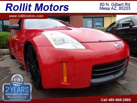 2007 Nissan 350Z for sale at Rollit Motors in Mesa AZ