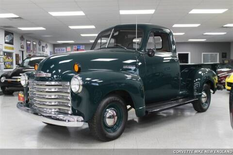 1951 Chevrolet 3100 for sale at Corvette Mike New England in Carver MA