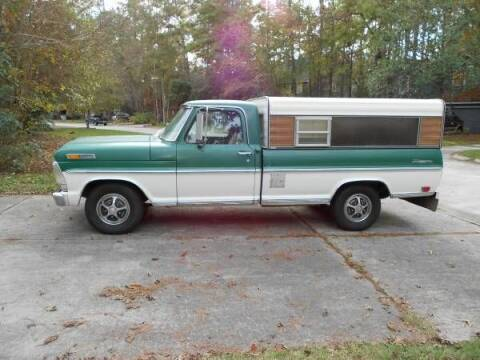 1968 Ford Ranger for sale at Classic Car Deals in Cadillac MI