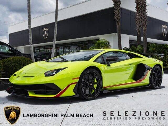 2020 Lamborghini Aventador for sale in West Palm Beach, FL