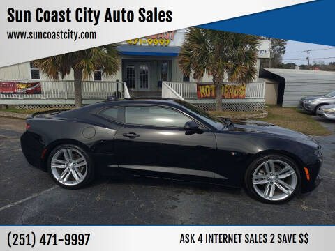 2017 Chevrolet Camaro for sale at Sun Coast City Auto Sales in Mobile AL