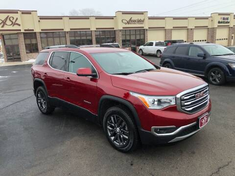 2019 GMC Acadia for sale at ASSOCIATED SALES & LEASING in Marshfield WI