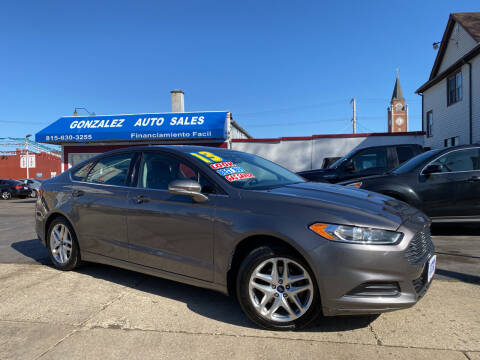 2013 Ford Fusion for sale at Gonzalez Auto Sales in Joliet IL