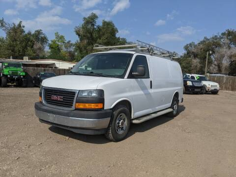 2017 GMC Savana Cargo for sale at HORSEPOWER AUTO BROKERS in Fort Collins CO