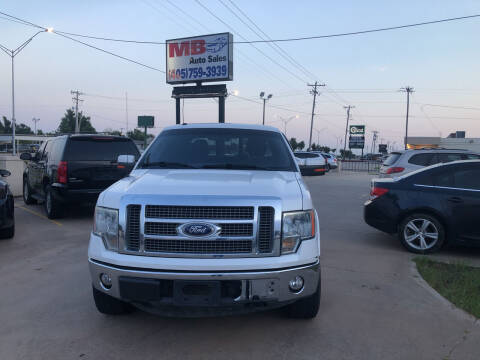 2010 Ford F-150 for sale at MB Auto Sales in Oklahoma City OK