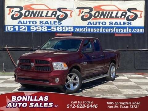 2017 RAM Ram Pickup 1500 for sale at Bonillas Auto Sales in Austin TX