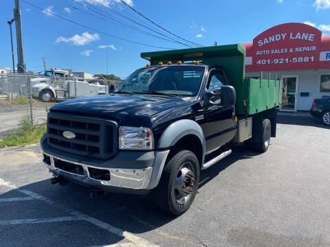 2007 Ford F-450 Super Duty for sale at Sandy Lane Auto Sales and Repair in Warwick RI